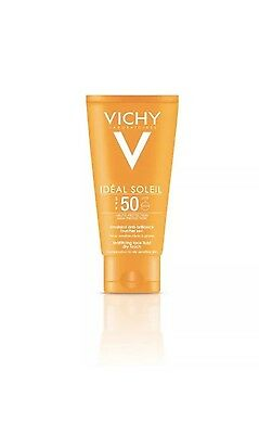 Vichy Ideal Soleil Dry Touch Face Emulsion Spf 50 50Ml