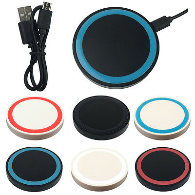 Wireless Charger Dock Charging Pad for Samsung Galaxy S6 S7 Edge Plus S8 8 5 Qi