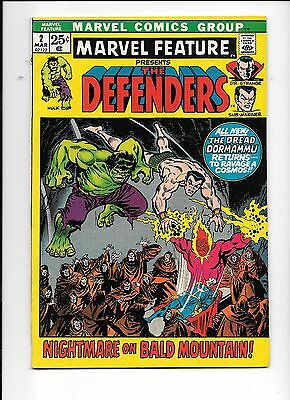 Marvel Feature Presents The Defenders #2 March 1972 2nd appearance The Defenders