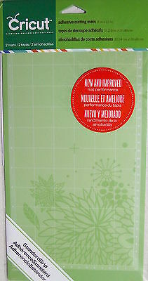 CRICUT ADHESIVE CUTTING MAT 6in x 12in  TWO MATS