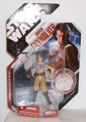 Star Wars 30 Anniversary # 33 Anakin with Silver Coin Expanded Universe