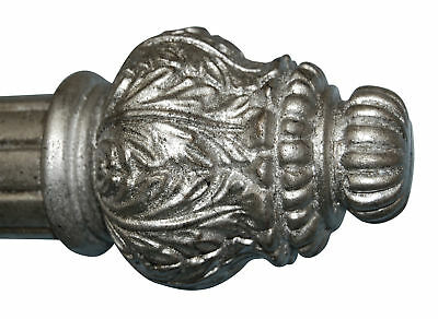Hickory Manor House Ornate Bottle Curtain Finial