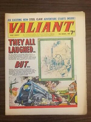 Valiant 5Th August 1967 British Weekly Fleetway Comic