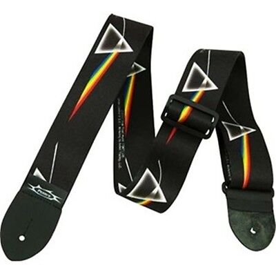 Perri's Tracolla Pink Floyd dark side of the moon Guitar Strap lpcp-1070 ww ship