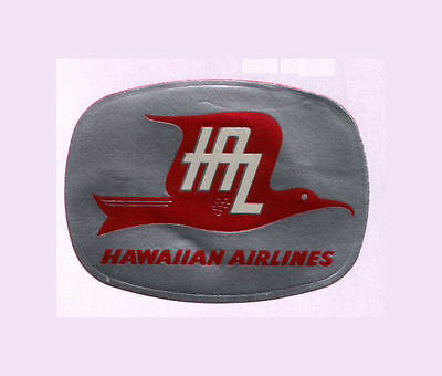 Airline label luggage Hawaii  #063