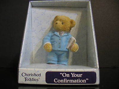 Enesco Cherished Teddies On your Confirmation 2003 114476  Priscilla Hillman