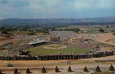 Williamsport Pennsylvania Lamade Memorial Field Vintage Postcard J44156