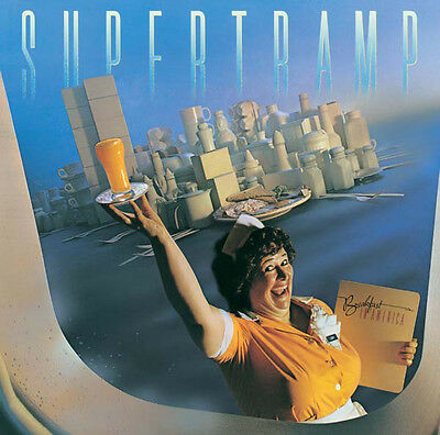 Supertramp BREAKFAST IN AMERICA 6th Album A&M RECORDS New Sealed Vinyl LP