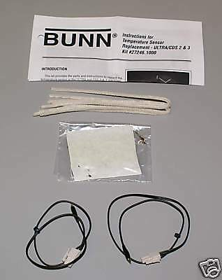 Bunn CDS-2 or Ultra-2 Temperature Probe Kit, 27246.1000 FACTORY PARTS  p