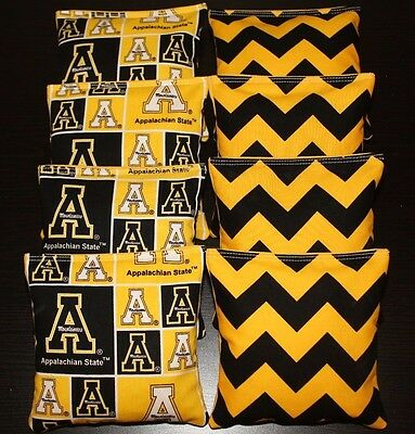 Stupendous All Weather Cornhole Bean Bags Made W Appalachian State Cjindustries Chair Design For Home Cjindustriesco