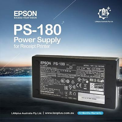 Genuine EPSON POWER ADAPTER M159D PS-180 4 TM-T20 P60 T70 T82 T90 U220 U230 U295