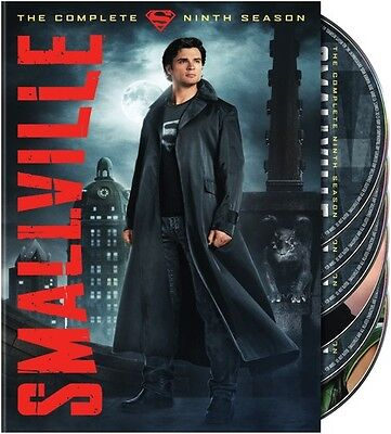 Smallville: The Complete Ninth Season [6 Discs] (2010, DVD NEW)