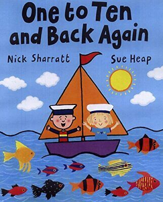 One to Ten and Back Again (Picture Puffin) by Heap, Sue Paperback Book The Cheap