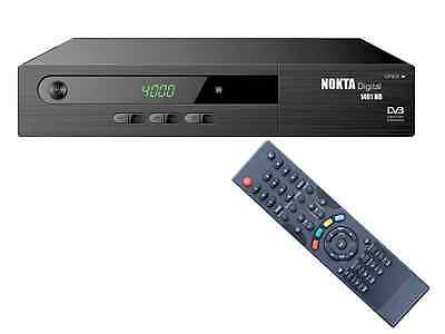 HD SAT Receiver Nokta 1461 ✔ USB ✔ HDMI ✔ Scart ✔ DVB-S2 ✔ Digital ✔ Full HDTV ✔