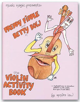 Violin Activity Book 2 by Kendra Law - Learn Violin