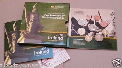2016 9 monete fdc 5,88 euro Irlanda BU irlande ireland EIRE 100 Irish Republic