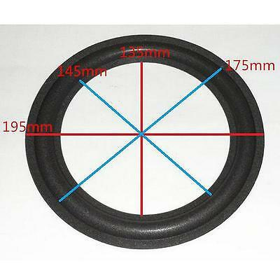 1 pair 8 in. Speaker Surround Repair Foam woofer edge + FREE SHIPPING #3HO