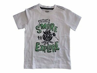 NWT Boys Gymboree Backyard Explorer SMore to Explore short sleeve shirt ~ 2T 3T