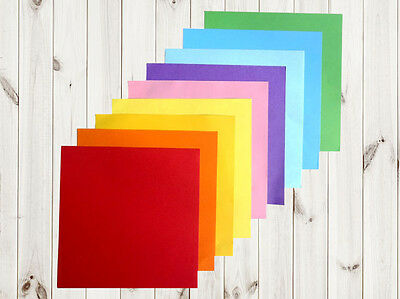 30 Sheets Origami Paper 15 X 15Cm 10 Colours Two Side Both Side Or001
