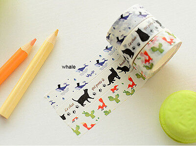 Japan Washi Tape Planner Decor 10 Meters 15Mm Wide Mt024