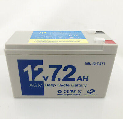 Replacement Battery for DryPower 12SB7.2P CBC12V8.0AH NP7-12 LP12-6.5 LP12-7.0