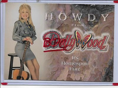 Super Star Dolly Parton,howdy From Dollywood,pigeon Forge,tn~Dollywood