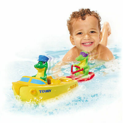 Tomy Baby Kids Toddler Boat Croc Floating Swim Water Bath Time/Pool/Beach Toy
