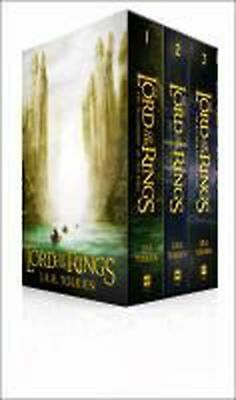 Lord of the Rings: Boxed Set by J R R Tolkien (English) Book & Merchandise Book