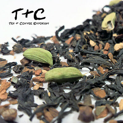 Masala Chai - Supreme Quality Blend of Black Tea and Spices (25g-900g)