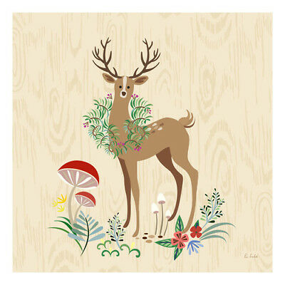 Oopsy Daisy Deer Grove Canvas Art