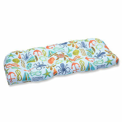 Pillow Perfect Seapoint Outdoor Loveseat Cushion
