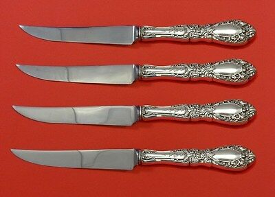 Prince Eugene by Alvin Sterling Silver Steak Knife Set 4pc HHWS  Custom 8 1/2""