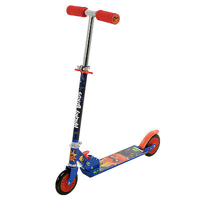 Angry Birds Folding In-line Scooter Push Ride-On Outdoor Childrens Toy Activity