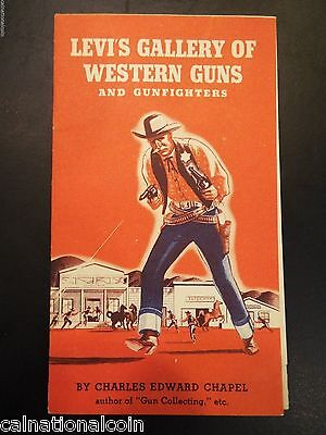 Levi's Gallery of Western Guns and Gunfighters + 10 items RESERVE