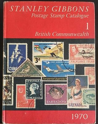 Stanley Gibbons Postage Stamp Catalogue 1 British Commonwealth 1970