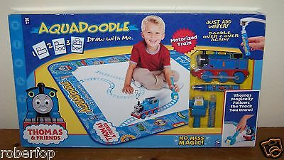 Thomas the Tank Friends Aquadoodle Draw with Me Motorized Train Follows Track!