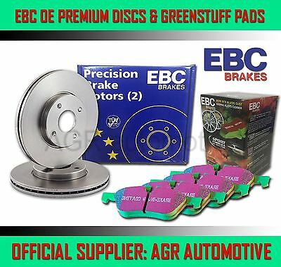 EBC REAR DISCS AND GREENSTUFF PADS 299mm FOR SSANGYONG KYRON 2.7 TD 2006-