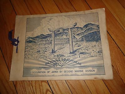 Pictorial Arrowhead Occupation of Japan by Second Marine Division WWII Book
