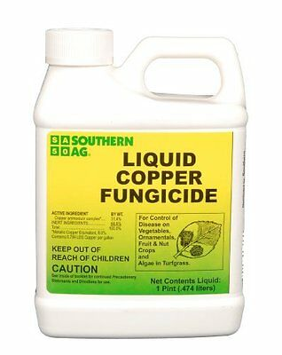 Southern Ag Liquid Copper Fungicide 16-Ounce 1 Pint Hose-End Sprayer Control New