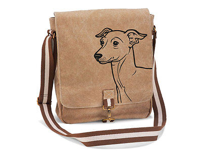 Canvas Messenger Hunderasse: Italian Greyhound