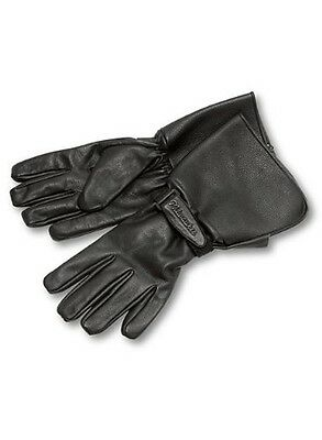 Milwaukee Motorcycle Clothing Company Men's Leather Gauntlet Riding Gloves (B...