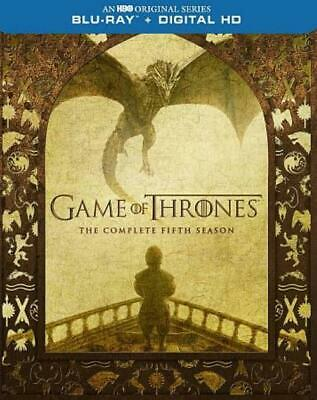 Game Of Thrones: The Complete Fifth Season New Blu-Ray