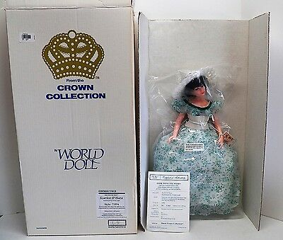 "1984 WORLD DOLL Gone with the Wind ""SCARLETT O'HARA"" by NEIL ESTERN 1360/1500"