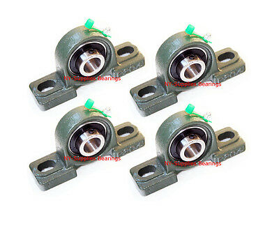 "High Quality 3/4"" UCP204-12 Pillow Block Bearing with Grease Fitting (Qty 4)"