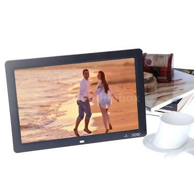 "Andoer 12"" HD LCD Digital Photo Frame MP3 MP4 Movie Player Alarm Clock Gift T7V2"
