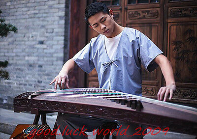 """High Quality 64""""Red Sandalwood Traditional Chinese musical instrument Zither #66"""