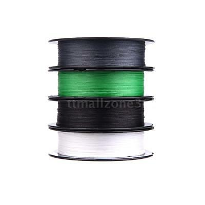 100M 20LB 0.18mm Fishing Line Super Strong Braided 4 Strands UK I4A9