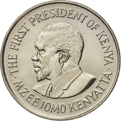 [#95465] Kenya, Shilling, 1978, British Royal Mint, MS(63), Copper-nickel, KM:14