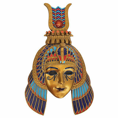 Design Toscano Masks of Egyptian Royalty Queen of the Nile Sculpture Wall Décor