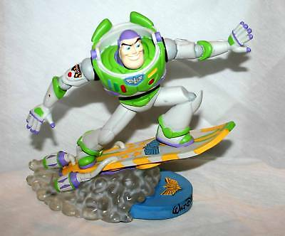 Toy Story Rare Buzz Lightyear Galactic Space-Surf Boarding Bobble Head!